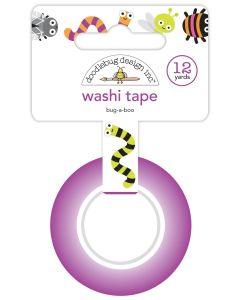 Bug-A-Boo Washi Tape - Happy Haunting - Doodlebug