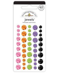 Halloween Assortment Jewels - Happy Haunting - Doodlebug