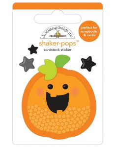 Hello Pumpkin Shaker-Pops - Happy Haunting - Doodlebug