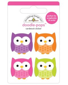 Happy Owl-O-Ween Doodle-Pops - Happy Haunting - Doodlebug