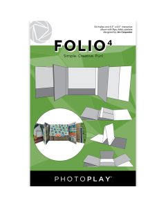 "White Folio4 Album Kit, 6.5"" x 6.5"" - Maker's Series - PhotoPlay"