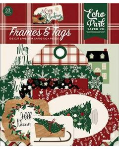 A Cozy Christmas Frames & Tags - Echo Park