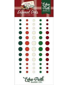 A Cozy Christmas Enamel Dots - Echo Park
