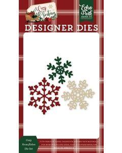 Cozy Snowflakes Die Set - A Cozy Christmas - Echo Park