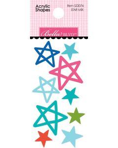 Star Mix Acrylic Shapes