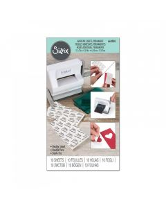 Sizzix Adhesive Sheets Package of 10