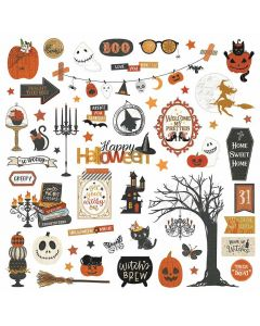All Hallows Eve Element Stickers - Michelle Coleman - Photoplay - Clearance