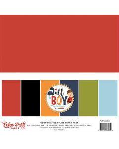 All Boy Solids Kit - Lori Whitlock - Echo Park*