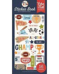 All Boy Sticker Book Cover - Lori Whitlock - Echo Park*