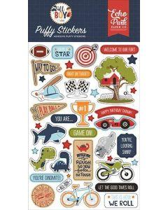 All Boy Puffy Stickers - Lori Whitlock - Echo Park*