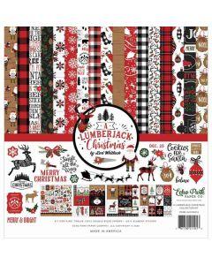 A Lumberjack Christmas Collection Kit - Echo Park