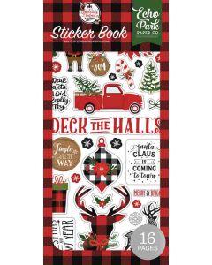 A Lumberjack Christmas Sticker Book - Echo Park