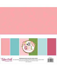All Girl Solids Kit - Lori Whitlock - Echo Park*