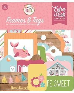 All Girl Frames & Tags - Lori Whitlock - Echo Park*