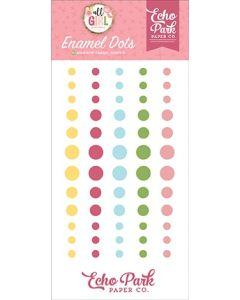 All Girl Enamel Dots - Lori Whitlock - Echo Park*