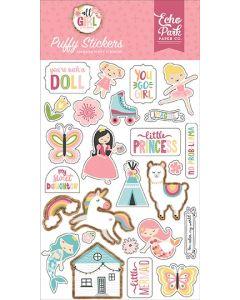 All Girl Puffy Stickers - Lori Whitlock - Echo Park*