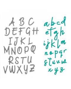 Alphabet Set Thinlits Dies - Emily Tootle - Sizzix