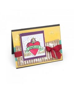 Amorcito (Sweetheart) Stamp & Die set Sizzix