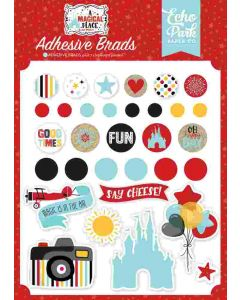A Magical Place Adhesive Brads - Echo Park*