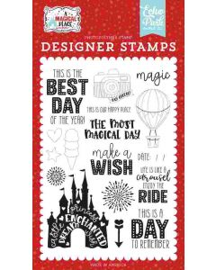 Our Happy Place Stamps - A Magical Place - Echo Park*
