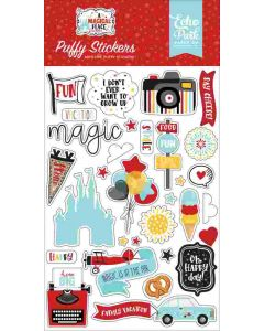 A Magical Place Puffy Stickers - Echo Park*