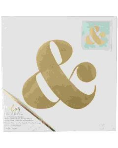 Ampersand watercolor home decor