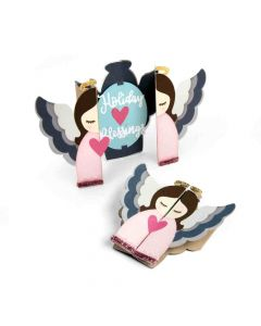 Sizzix Angel Fold A Long Card