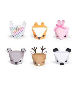 Animal treat boxes - Sizzix