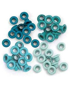 We R Memory Keepers Eyelets - Auqua