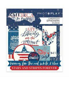 America the Beautiful Ephemera - Michelle Coleman - PhotoPlay