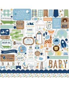Baby Boy Element Stickers - Echo Park