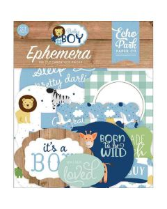Baby Boy Ephemera - Echo Park