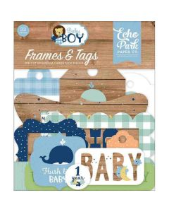 Baby Boy Frames & Tags - Echo Park