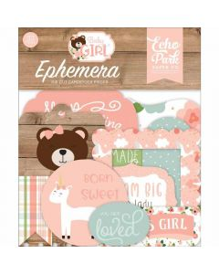 Baby Girl Ephemera - Echo Park