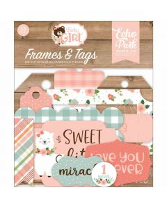 Baby Girl Frames & Tags - Echo Park