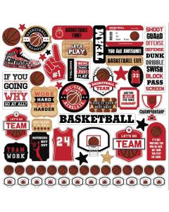 Basketball Element Stickers - Echo Park