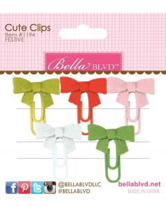 Festive Cute Clips - Fa La La - Bella Blvd