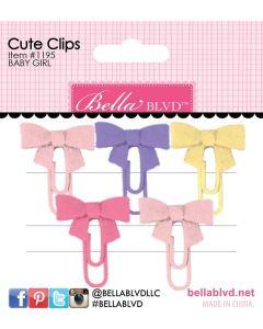 Baby Girl Cute Clips - My Candy Girl - Bella Blvd