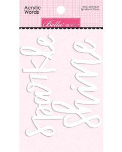 Sparkle & Shine Acrylic Words - My Candy Girl - Bella Blvd