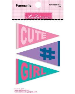 Girl Pennants - My Candy Girl - Bella Blvd