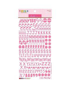Peep Florence Alphabet Stickers - Bella Besties - Bella Blvd