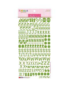 Guacamole Florence Alphabet Stickers - Bella Besties - Bella Blvd
