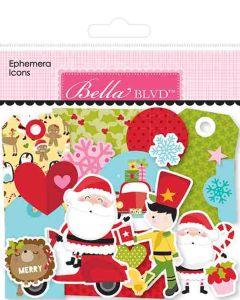 Santa Squad Ephemera Icons - Bella Blvd