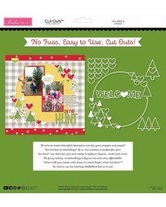 Wreath Cut Outs - Santa Squad - Bella Blvd