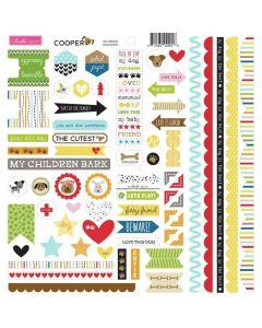 Doohickey Cardstock Stickers - Cooper - Bella Blvd*