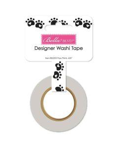 Paw Prints Washi Tape - Cooper - Bella Blvd*