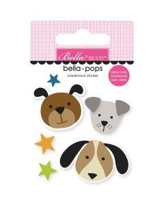 Pups Sticker - Cooper - Bella Blvd*