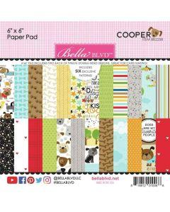 "Cooper 6"" x 6"" Paper Pad - Bella Blvd*"