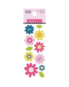 Flowers Acrylic Shapes - Chloe - Bella Blvd*