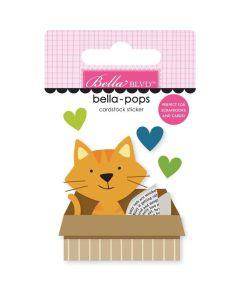 Cat In A Box Bella Blvd Sticker - Chloe - Bella Blvd*